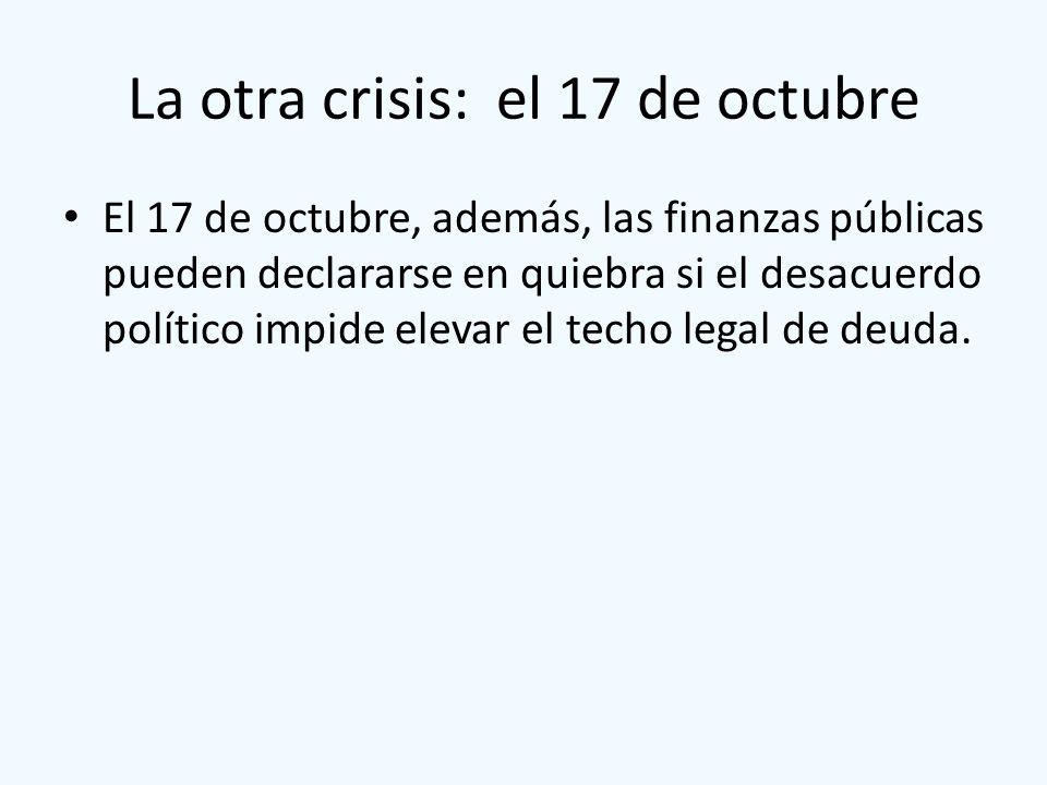La otra crisis: el 17 de octubre
