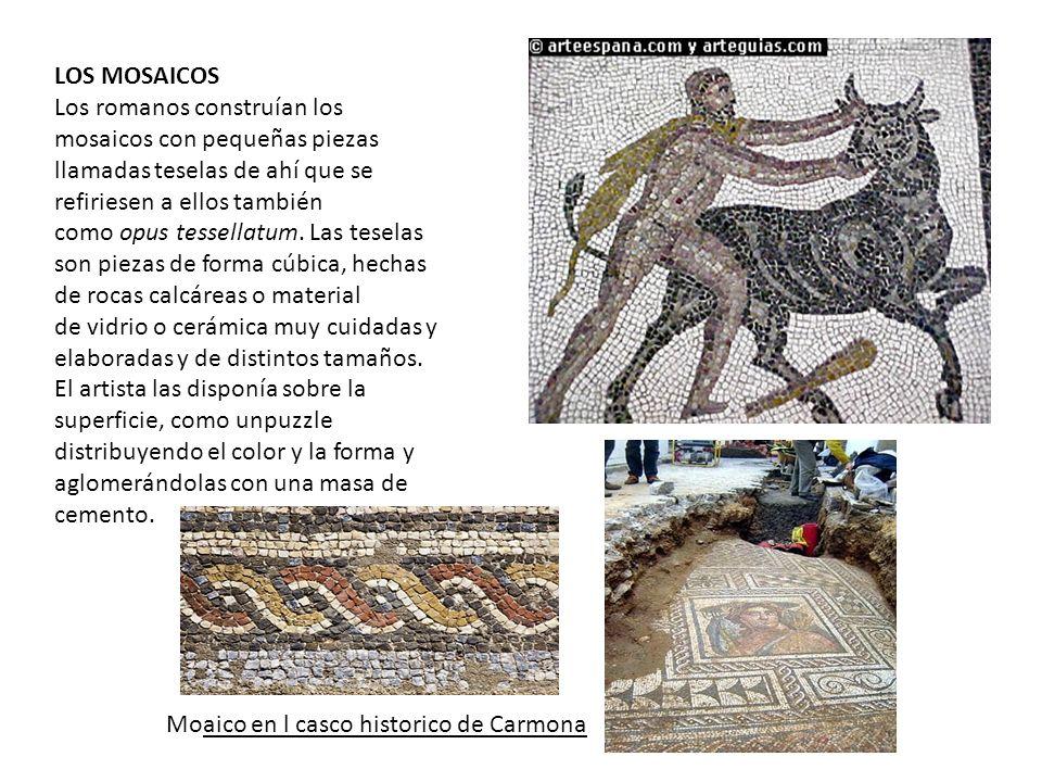 Moaico en l casco historico de Carmona
