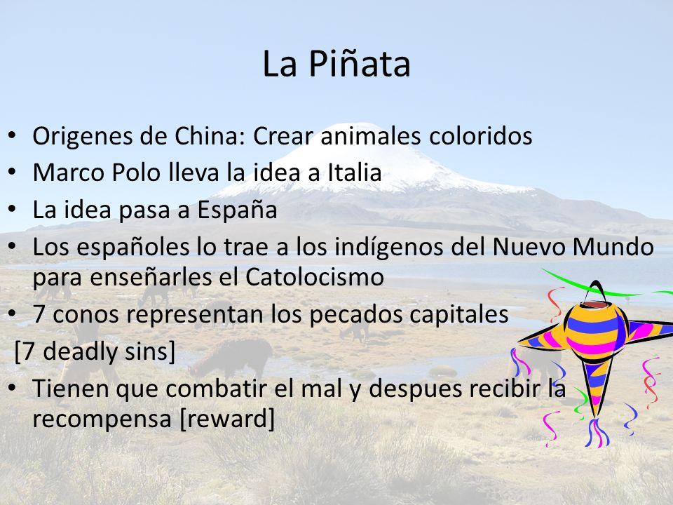 La Piñata Origenes de China: Crear animales coloridos