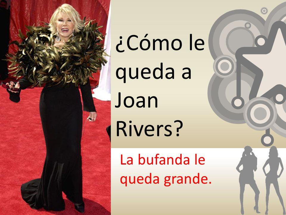 ¿Cómo le queda a Joan Rivers