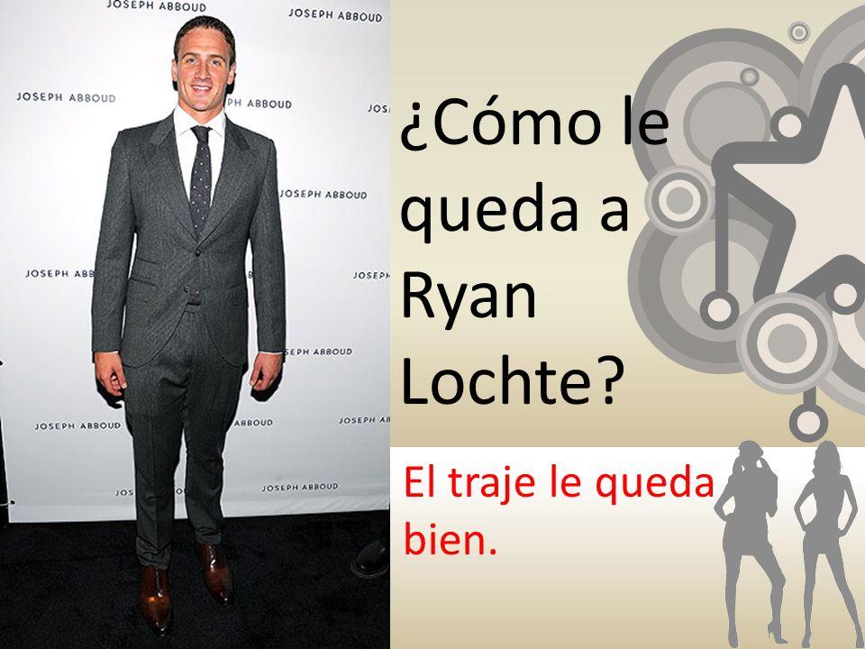 ¿Cómo le queda a Ryan Lochte