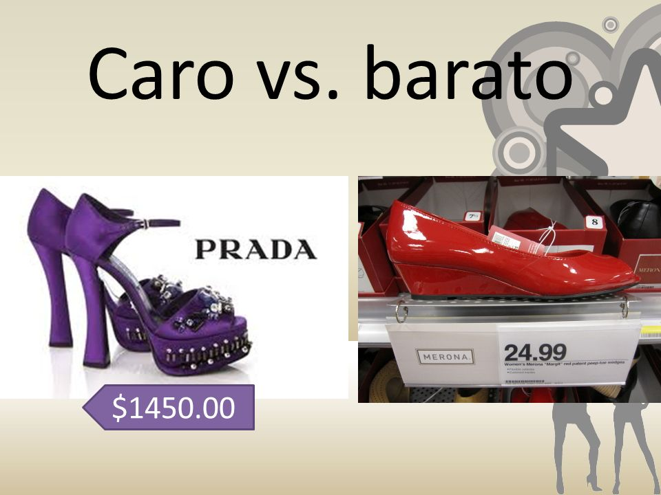 Caro vs. barato $1450.00