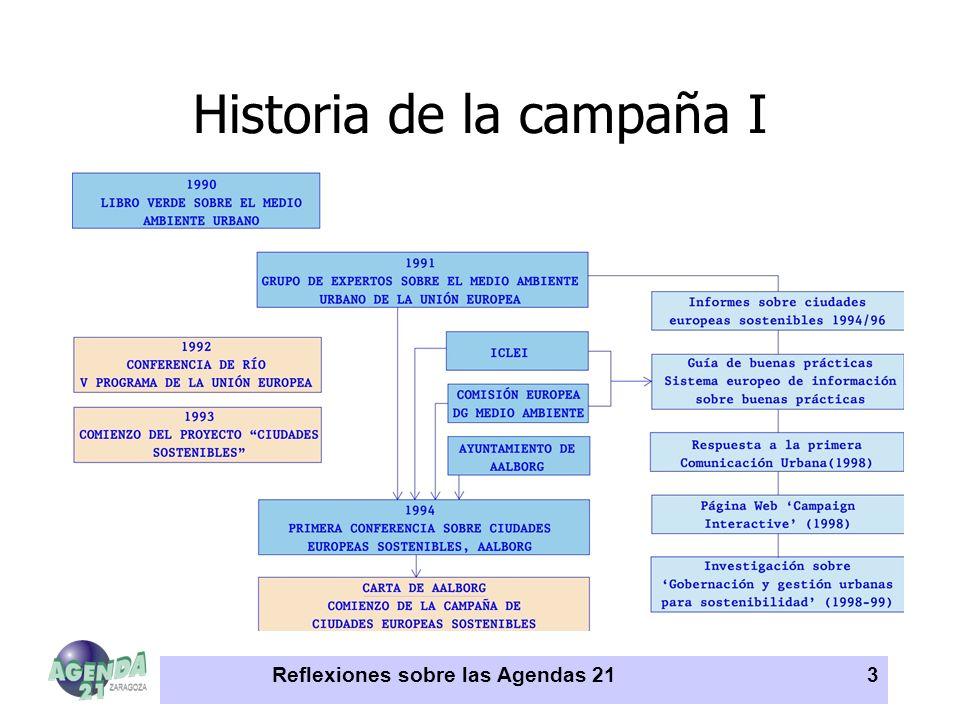 Historia de la campaña I
