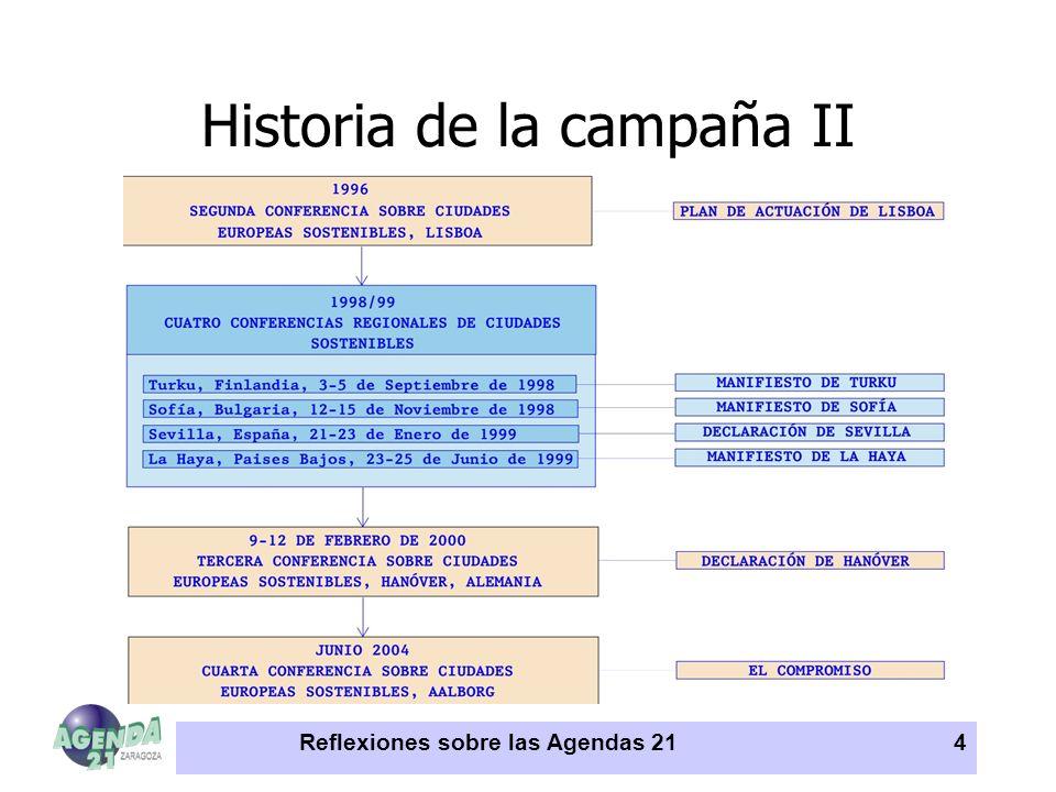 Historia de la campaña II
