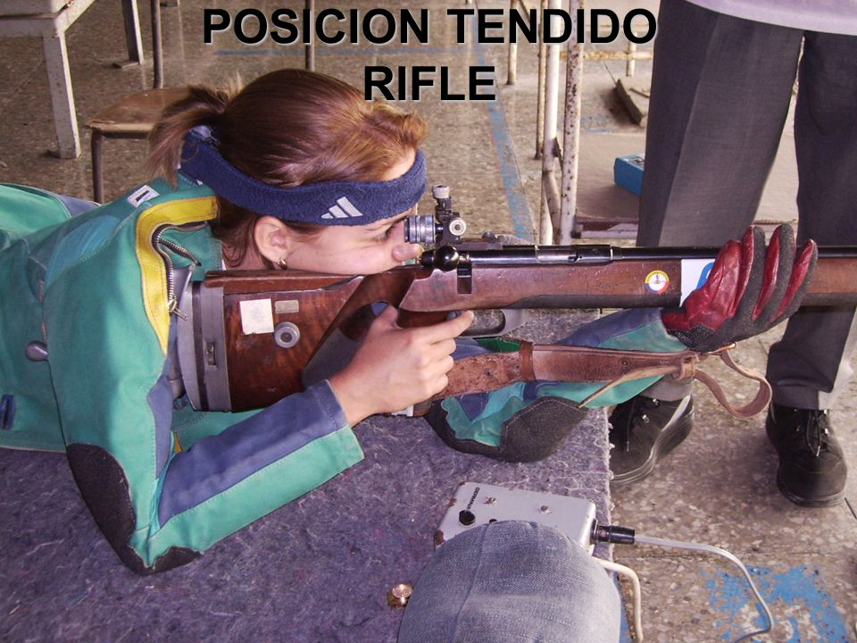 POSICION TENDIDO RIFLE