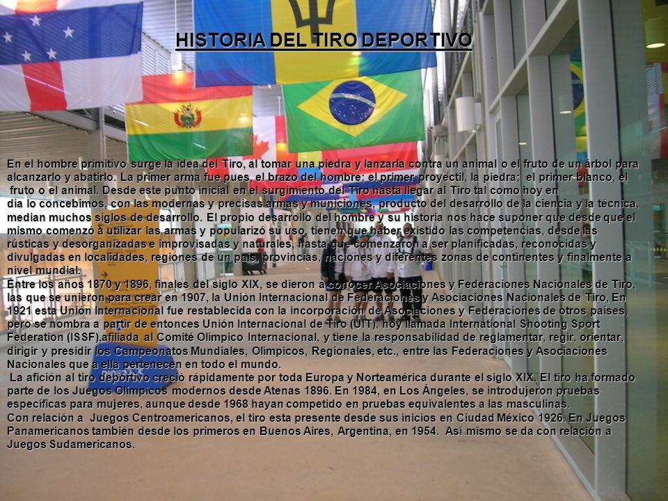 HISTORIA DEL TIRO DEPORTIVO