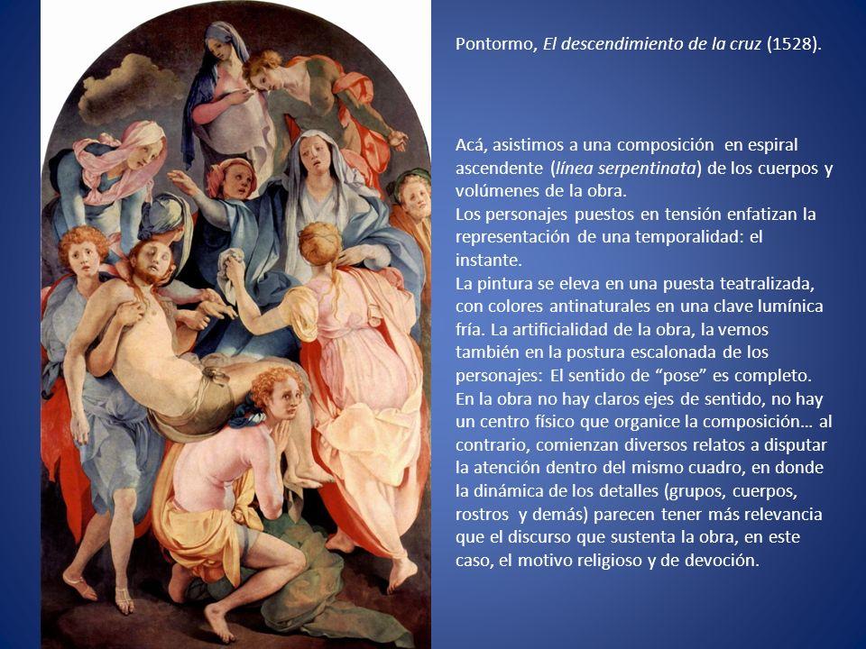 Pontormo, El descendimiento de la cruz (1528)