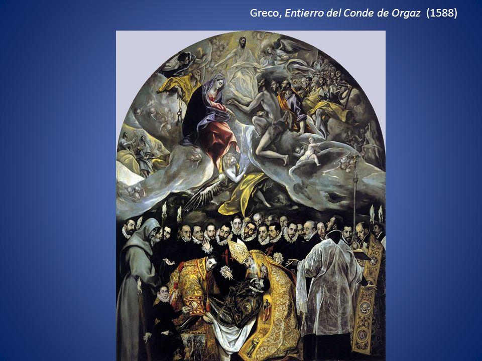 Greco, Entierro del Conde de Orgaz (1588)