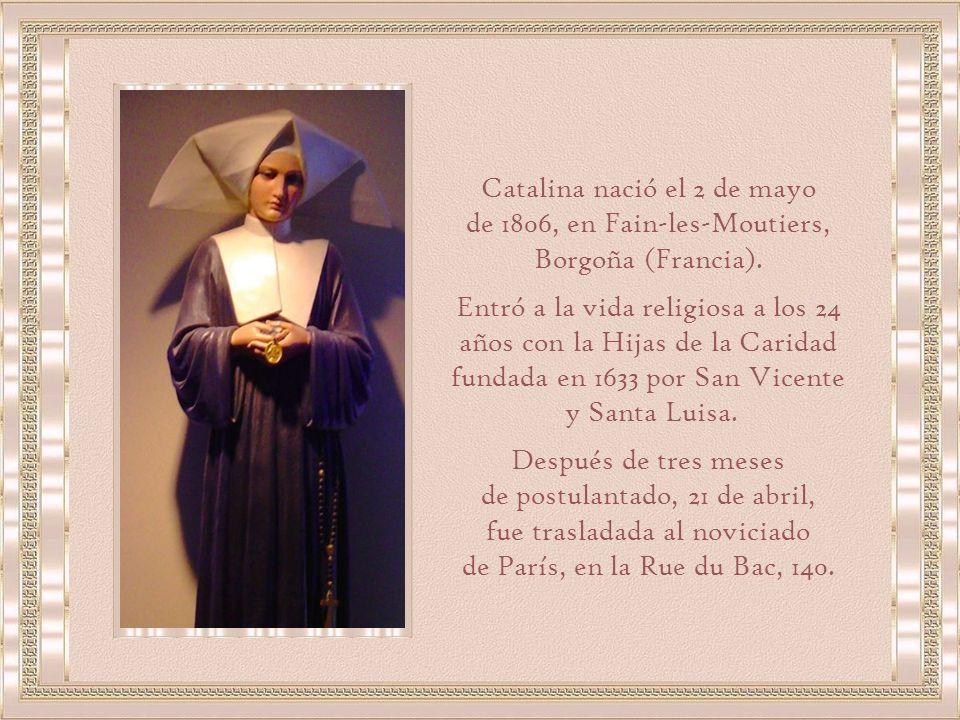 Catalina nació el 2 de mayo