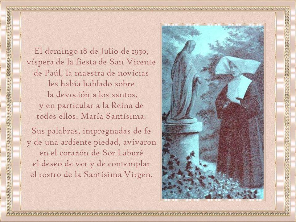 les había hablado sobre la devoción a los santos,