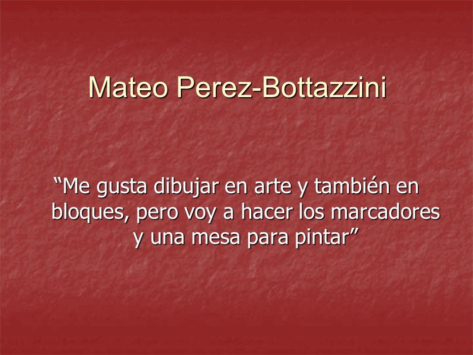 Mateo Perez-Bottazzini