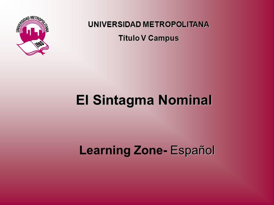 Learning Zone- Español