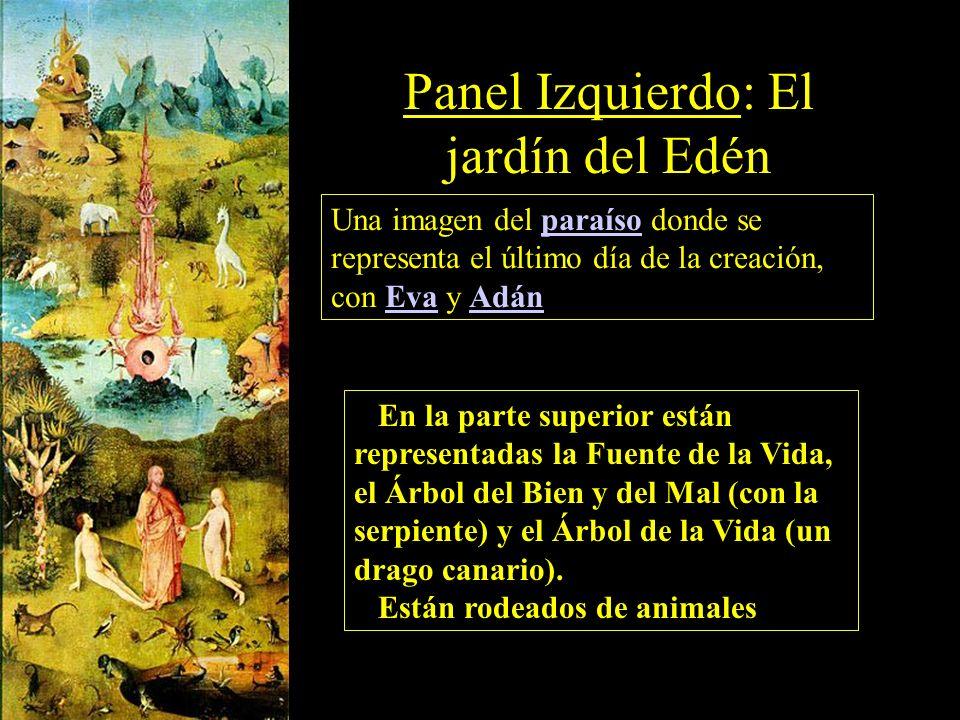 Panel Izquierdo: El jardín del Edén