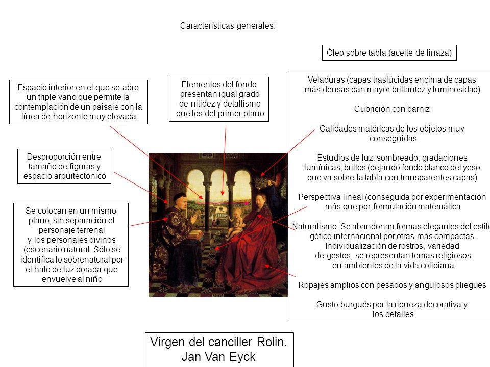 Virgen del canciller Rolin. Jan Van Eyck