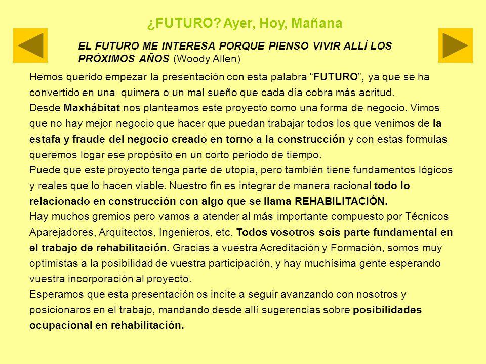¿FUTURO Ayer, Hoy, Mañana