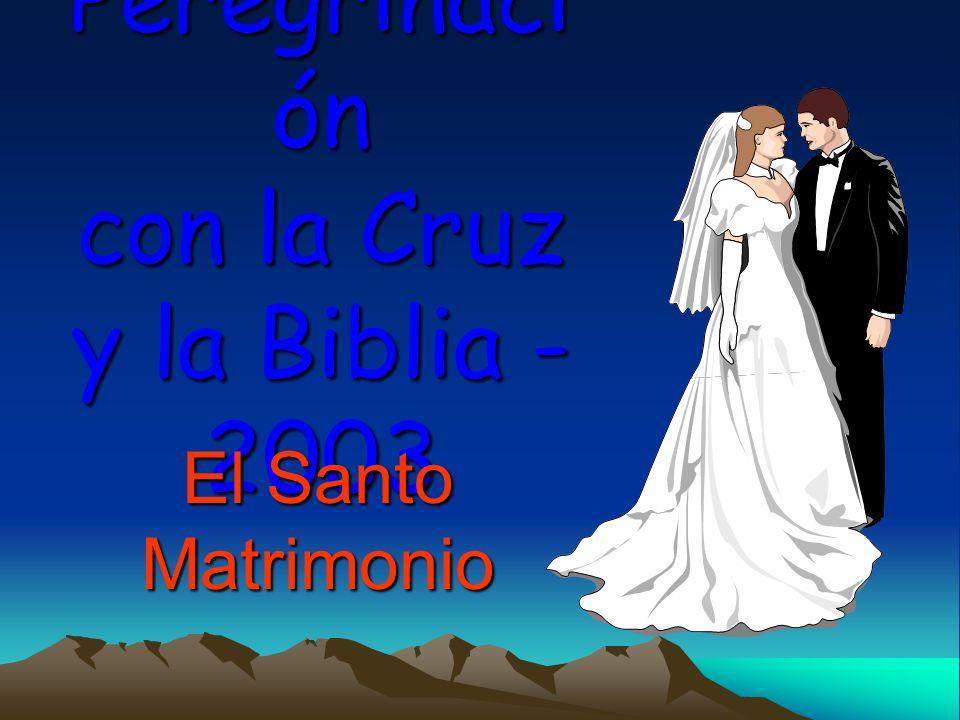 Peregrinación con la Cruz y la Biblia - 2003