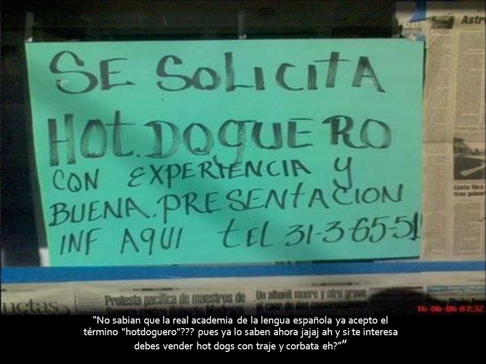 No sabian que la real academia de la lengua española ya acepto el término hotdoguero .