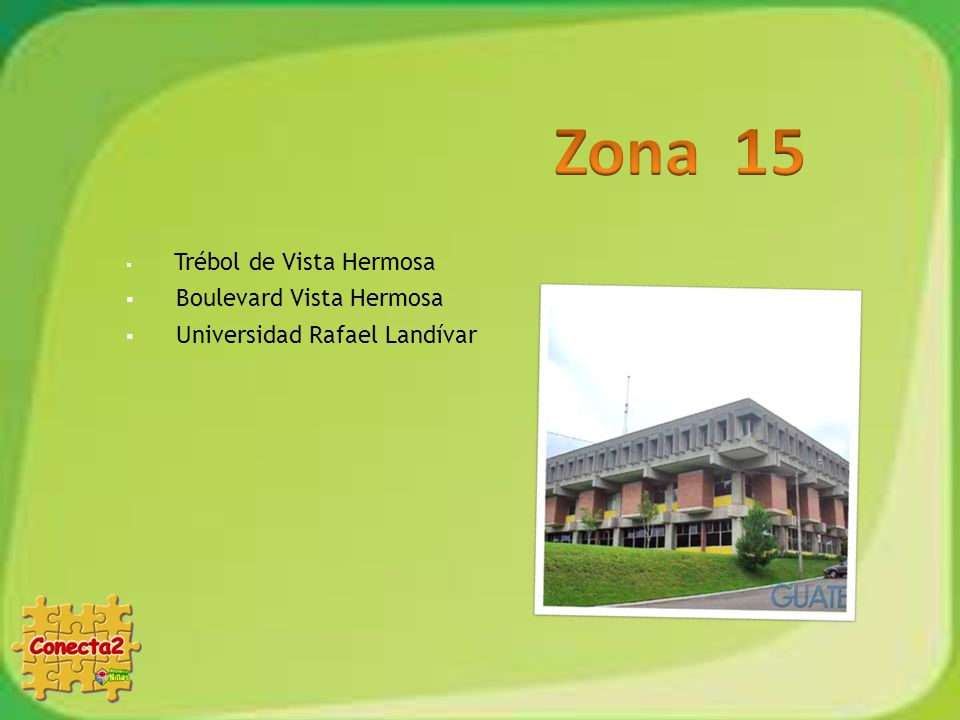 Zona 15 Boulevard Vista Hermosa Universidad Rafael Landívar