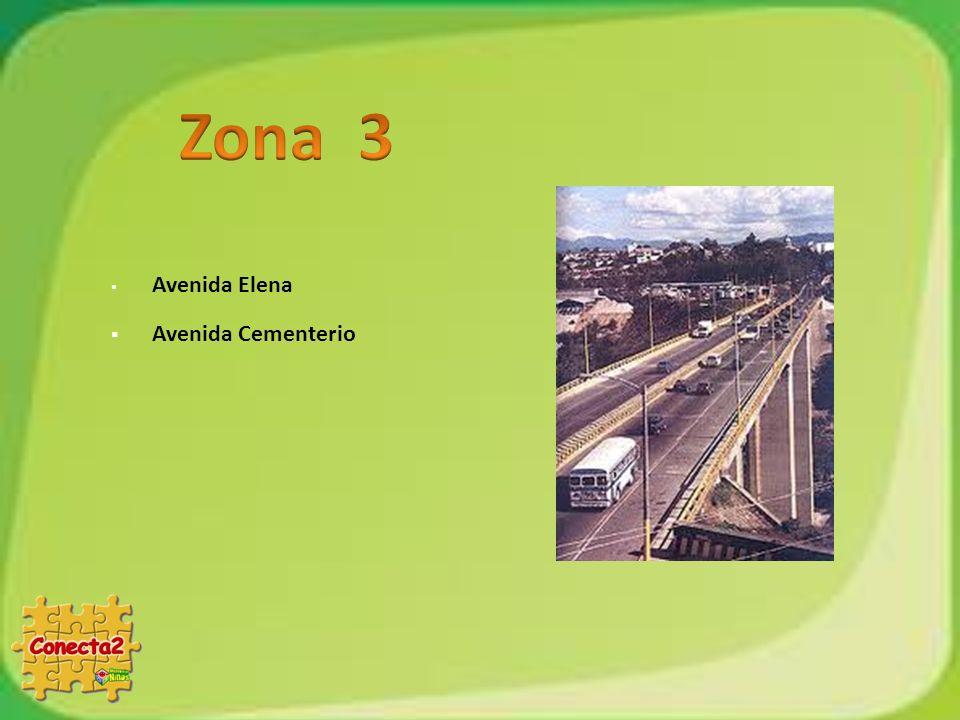 Zona 3 Avenida Elena Avenida Cementerio