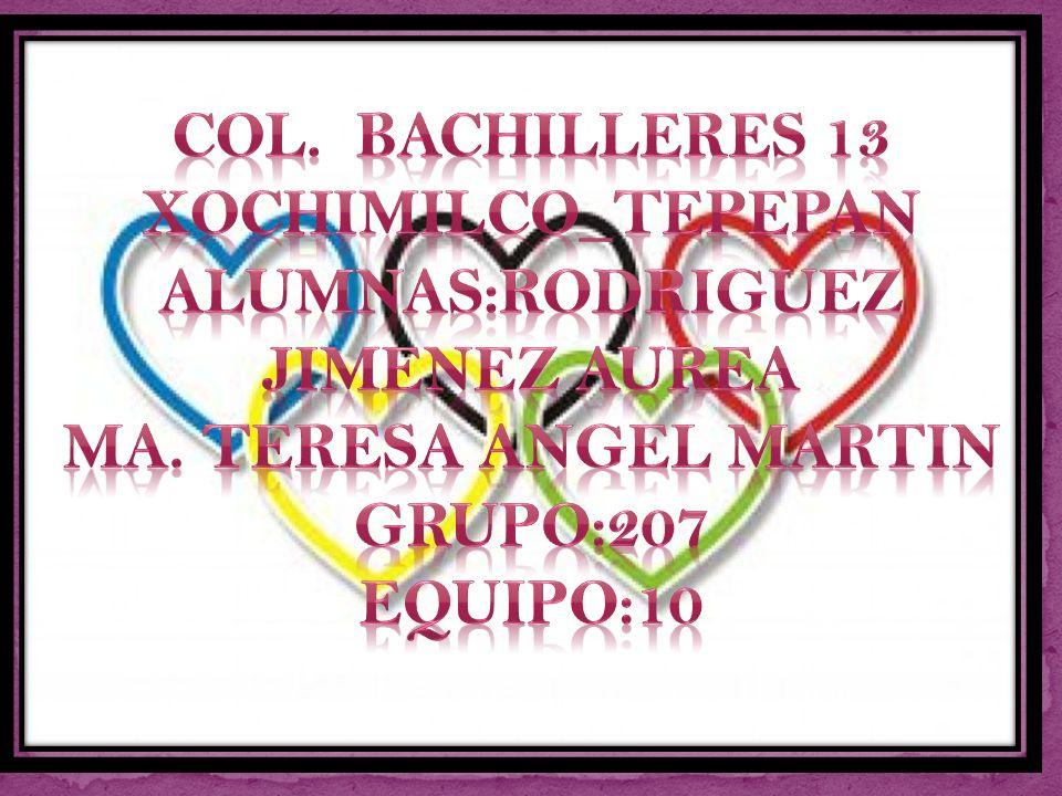 Col. Bachilleres 13 xochimilco_tepepan alumnas:rodriguez jimenez aurea