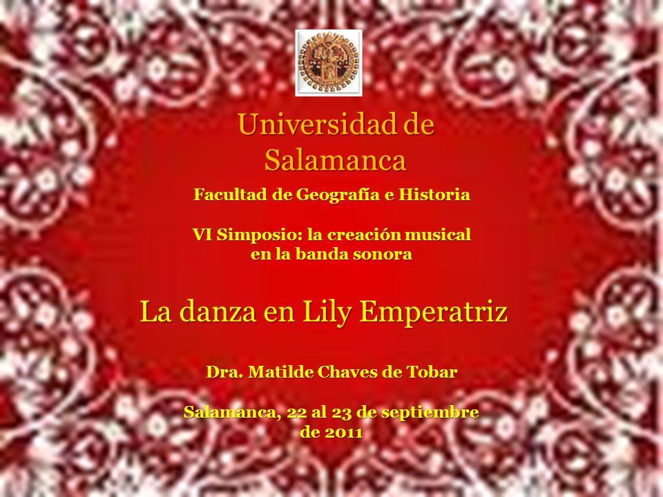 La danza en Lily Emperatríz