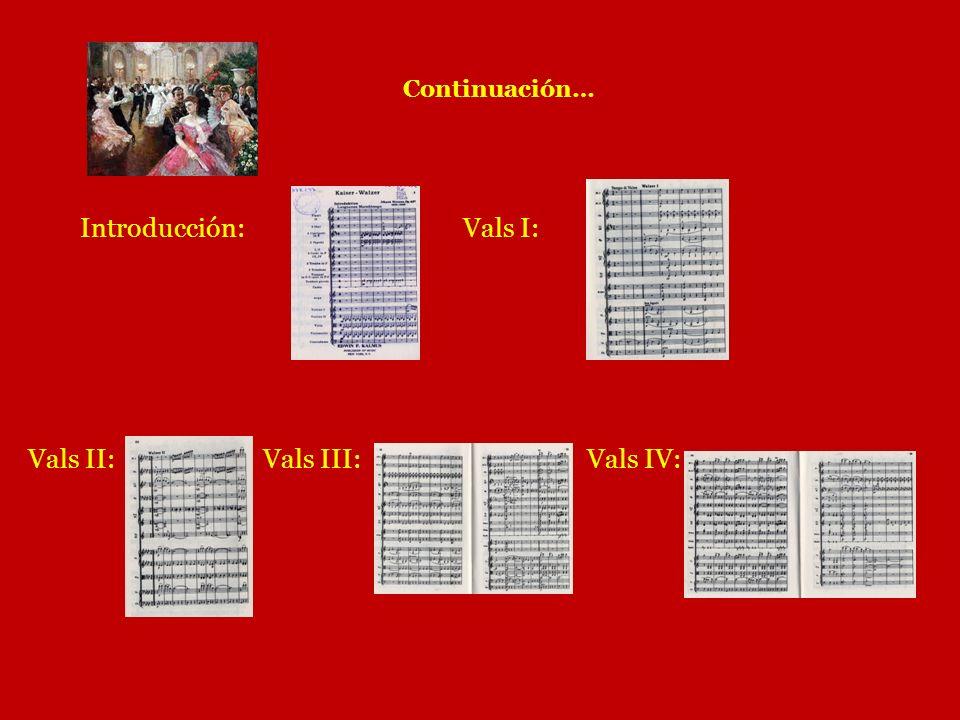 Vals II: Vals III: Vals IV: