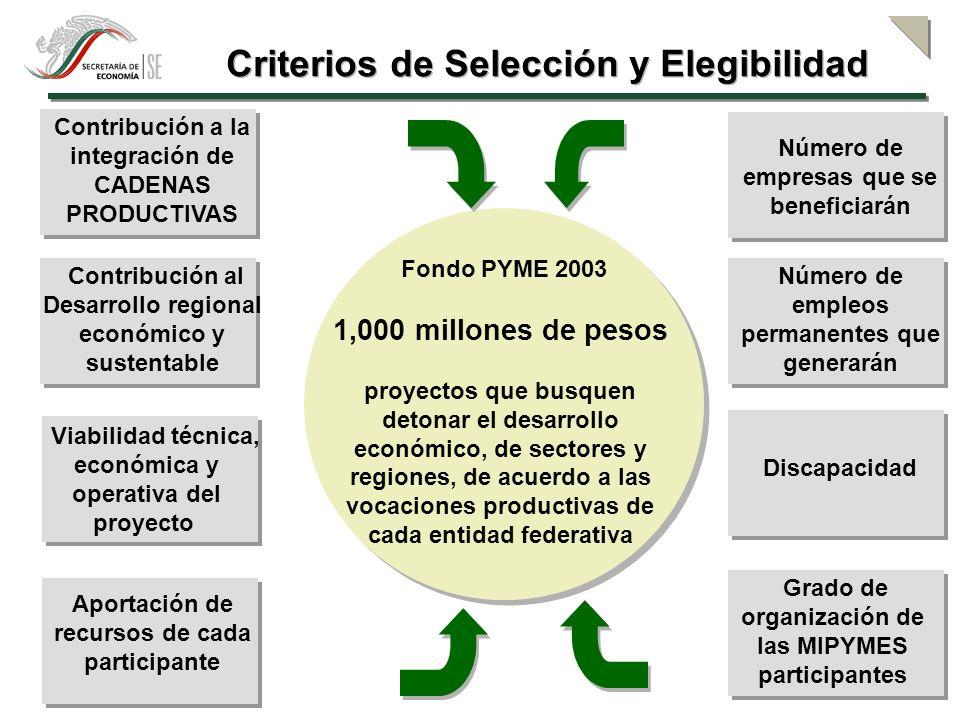Criterios de Selección y Elegibilidad