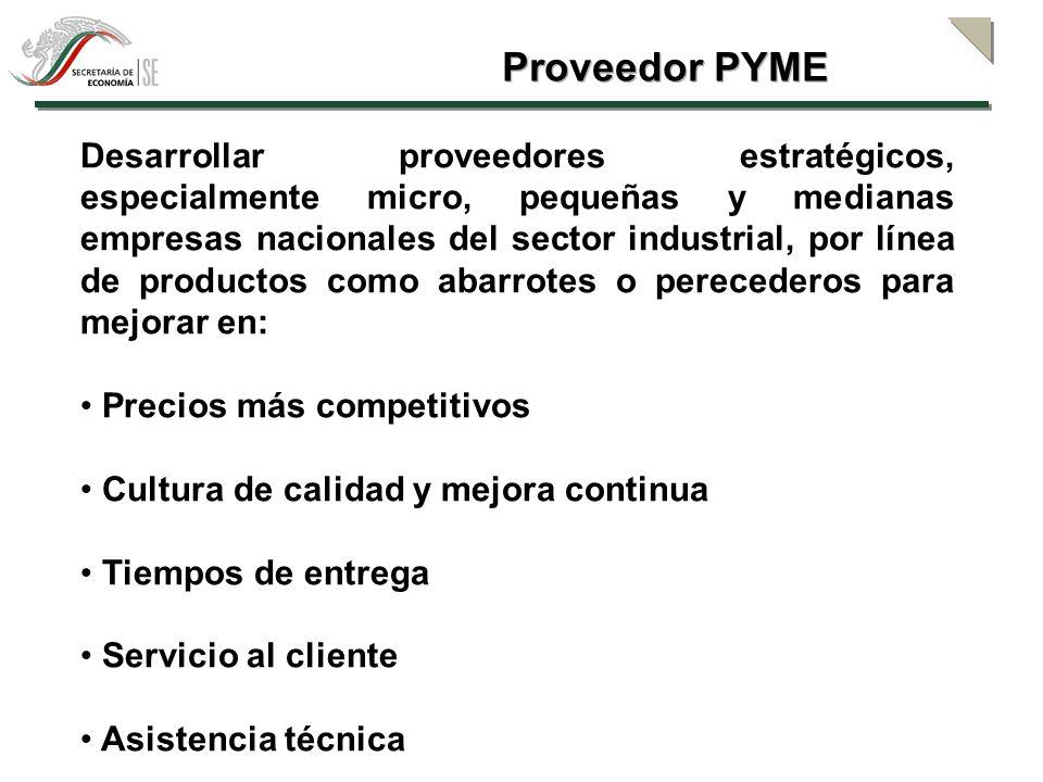Proveedor PYME