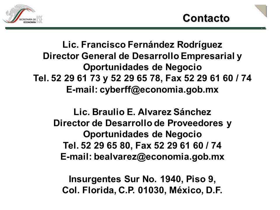 Contacto Lic. Francisco Fernández Rodríguez