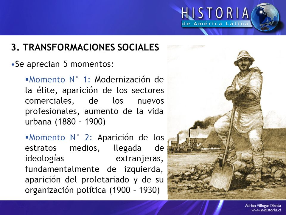 3. TRANSFORMACIONES SOCIALES