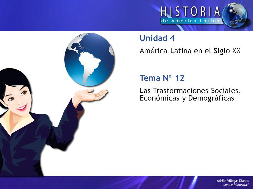 Unidad 4 Tema Nº 12 América Latina en el Siglo XX