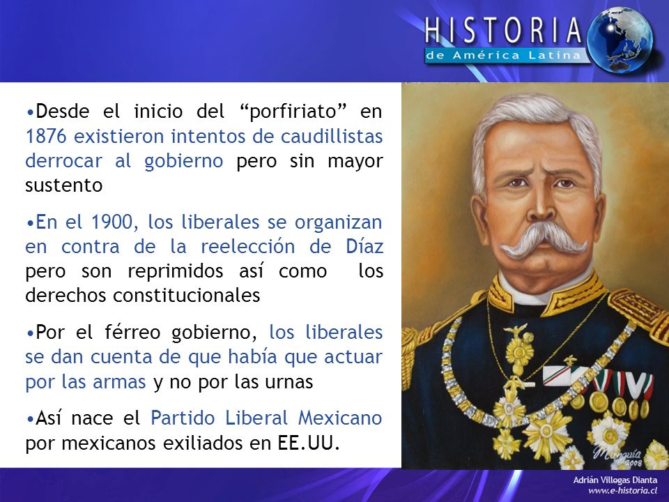 Desde el inicio del porfiriato en 1876 existieron intentos de caudillistas derrocar al gobierno pero sin mayor sustento
