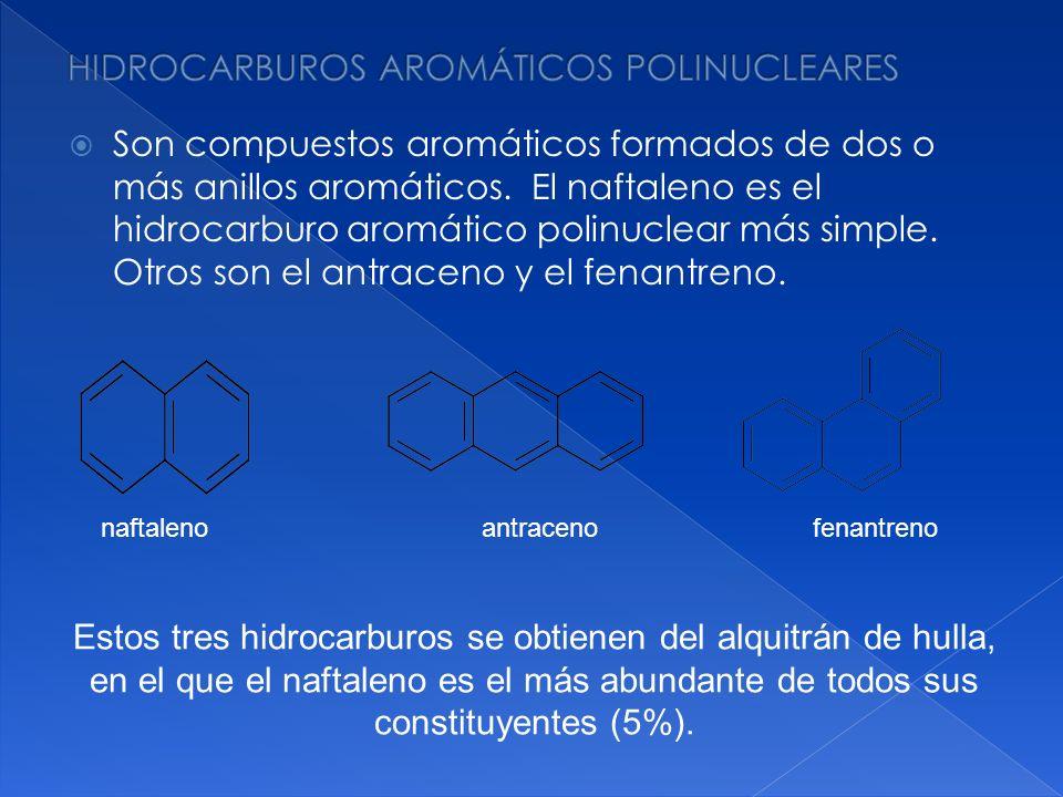 HIDROCARBUROS AROMÁTICOS POLINUCLEARES