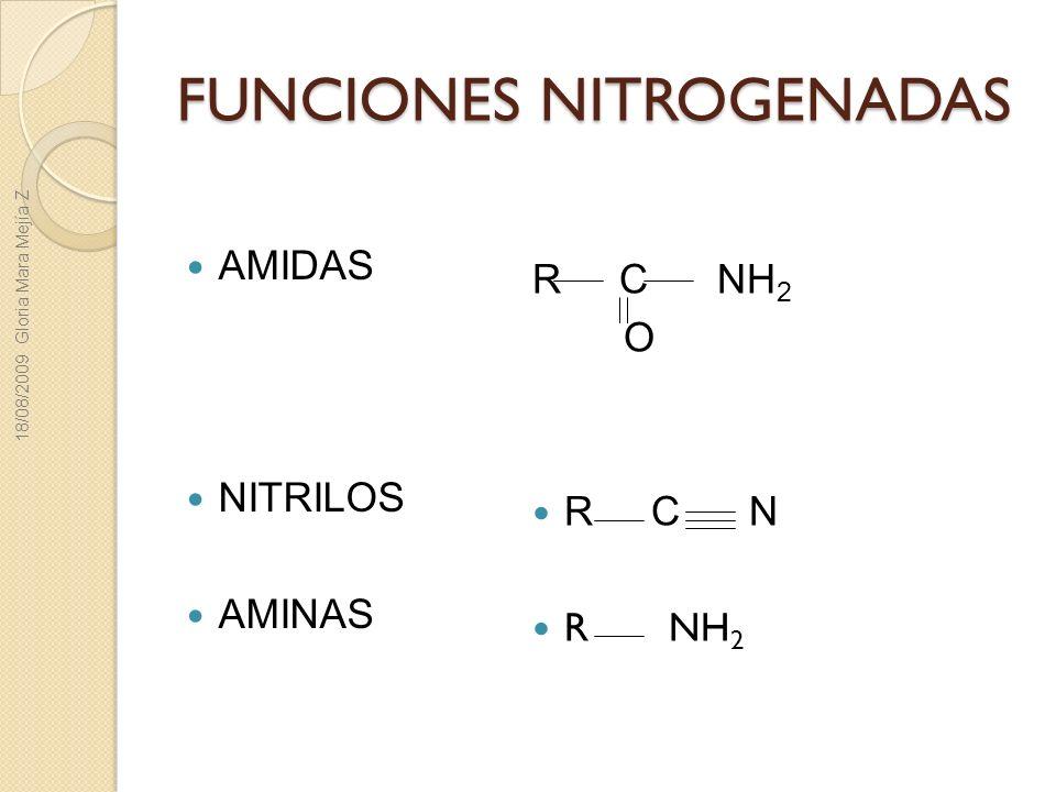 FUNCIONES NITROGENADAS