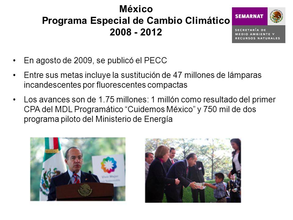México Programa Especial de Cambio Climático 2008 - 2012