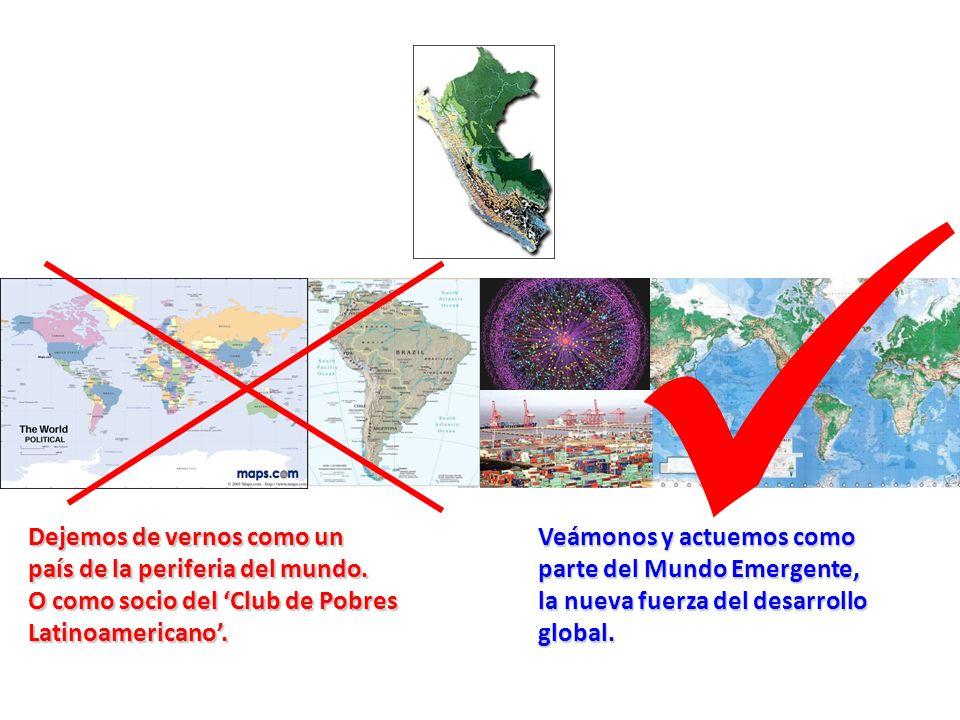 Dejemos de vernos como un país de la periferia del mundo.