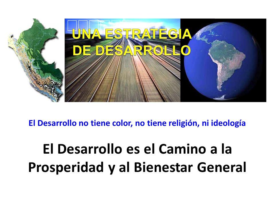 El Desarrollo es el Camino a la Prosperidad y al Bienestar General