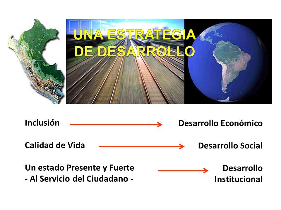 Un estado Presente y Fuerte - Al Servicio del Ciudadano -