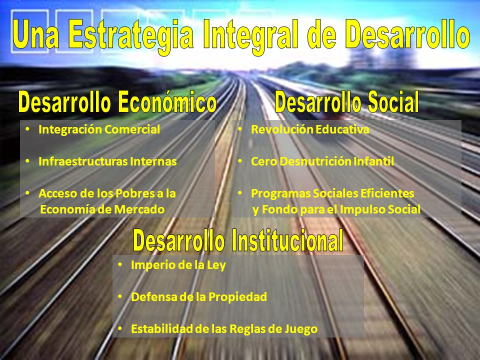 Una Estrategia Integral de Desarrollo