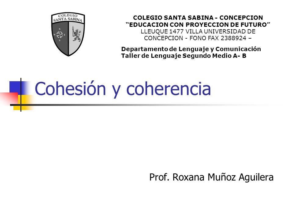 Prof. Roxana Muñoz Aguilera