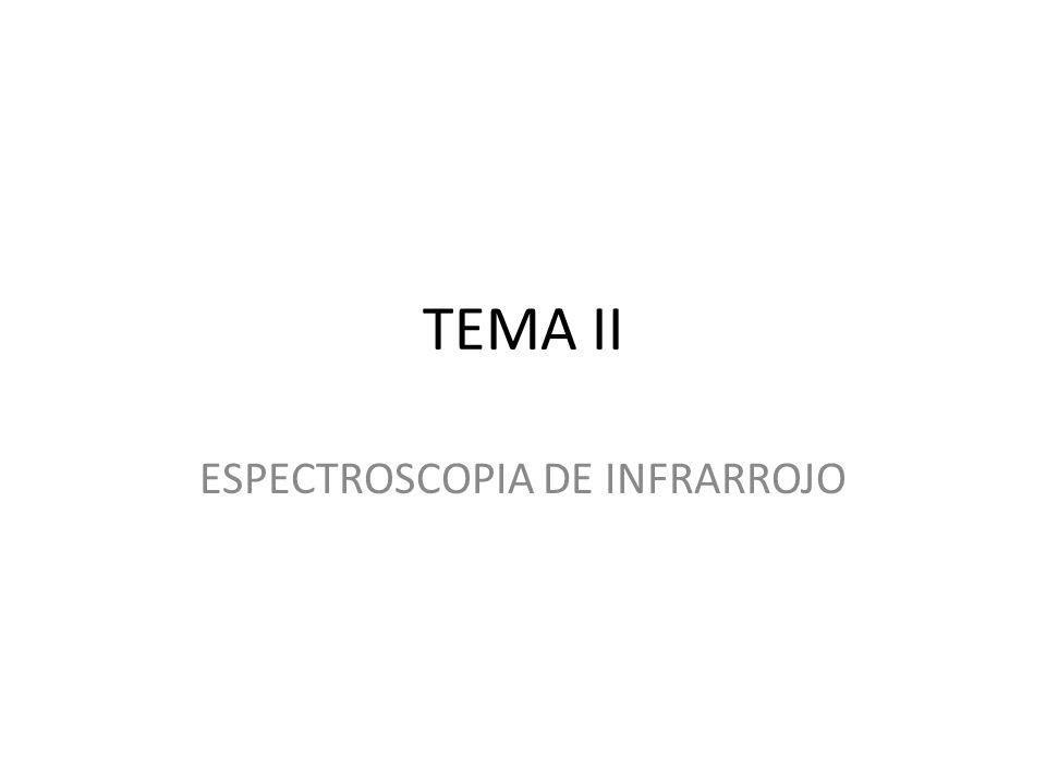 ESPECTROSCOPIA DE INFRARROJO