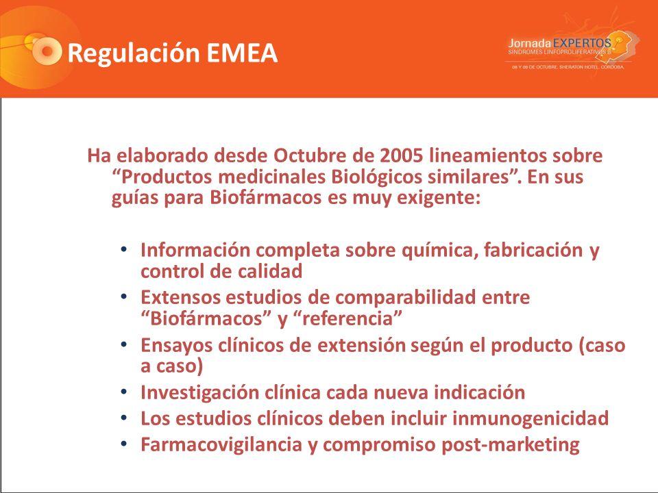 Regulación EMEA