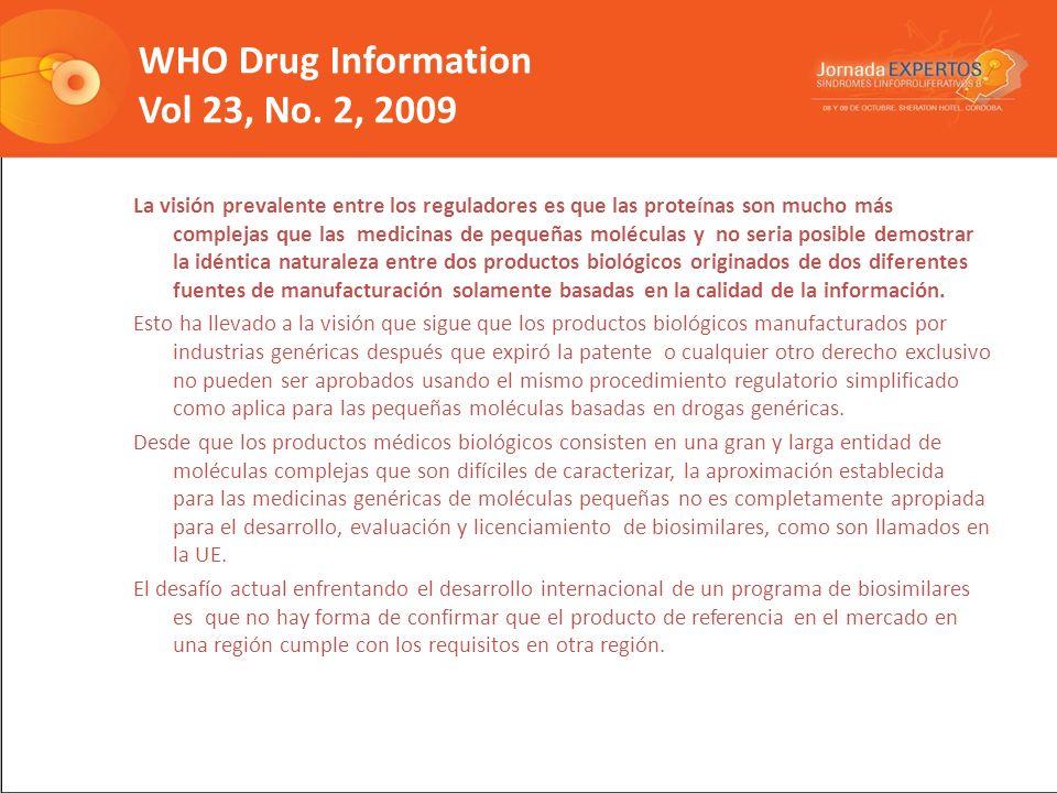 WHO Drug Information Vol 23, No. 2, 2009