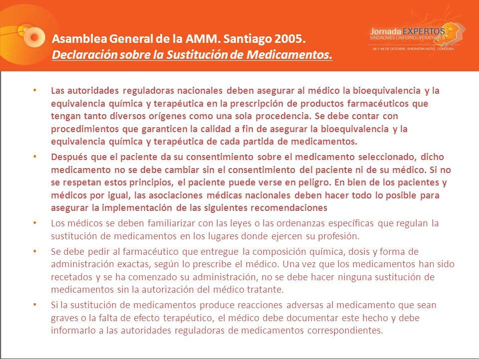 Asamblea General de la AMM. Santiago 2005