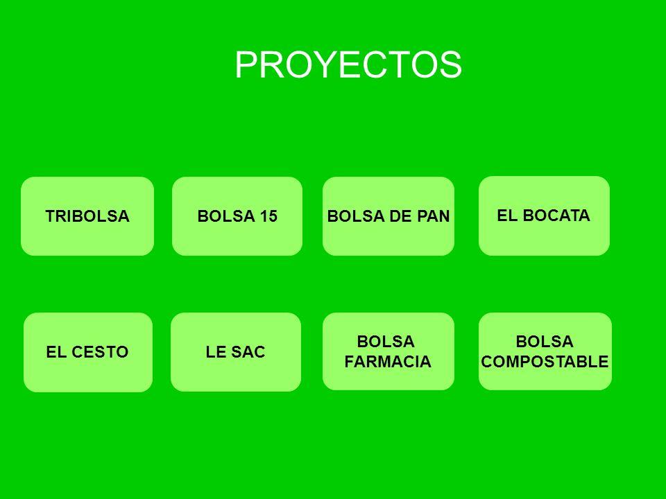 PROYECTOS TRIBOLSA BOLSA 15 BOLSA DE PAN EL BOCATA EL CESTO LE SAC