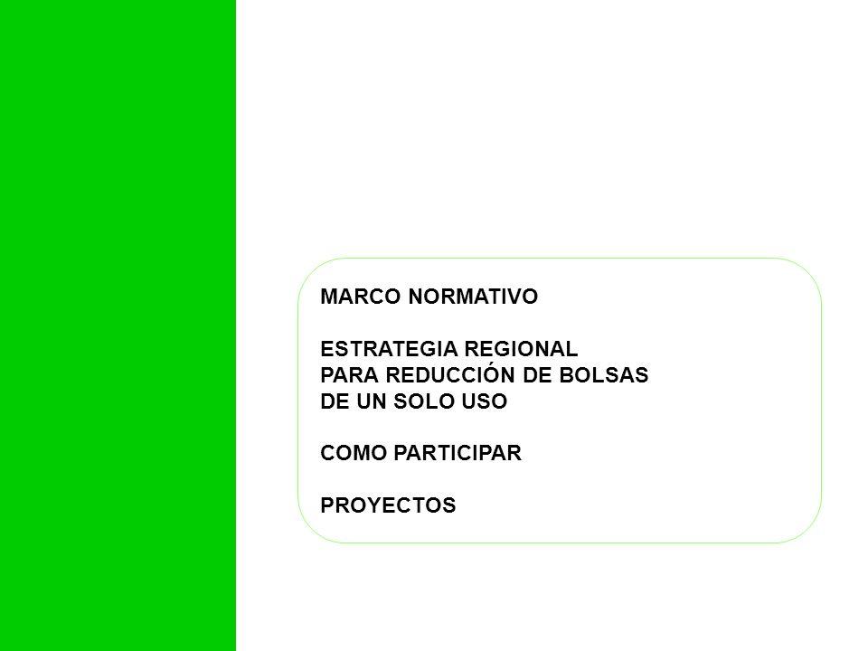 PARA REDUCCIÓN DE BOLSAS DE UN SOLO USO COMO PARTICIPAR PROYECTOS