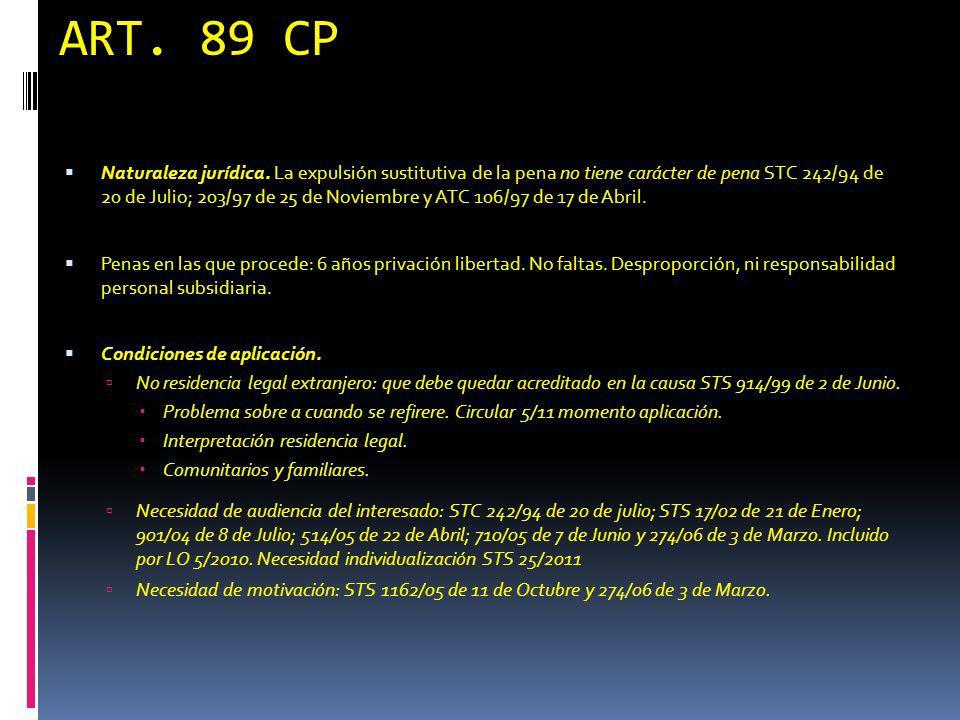 ART. 89 CP