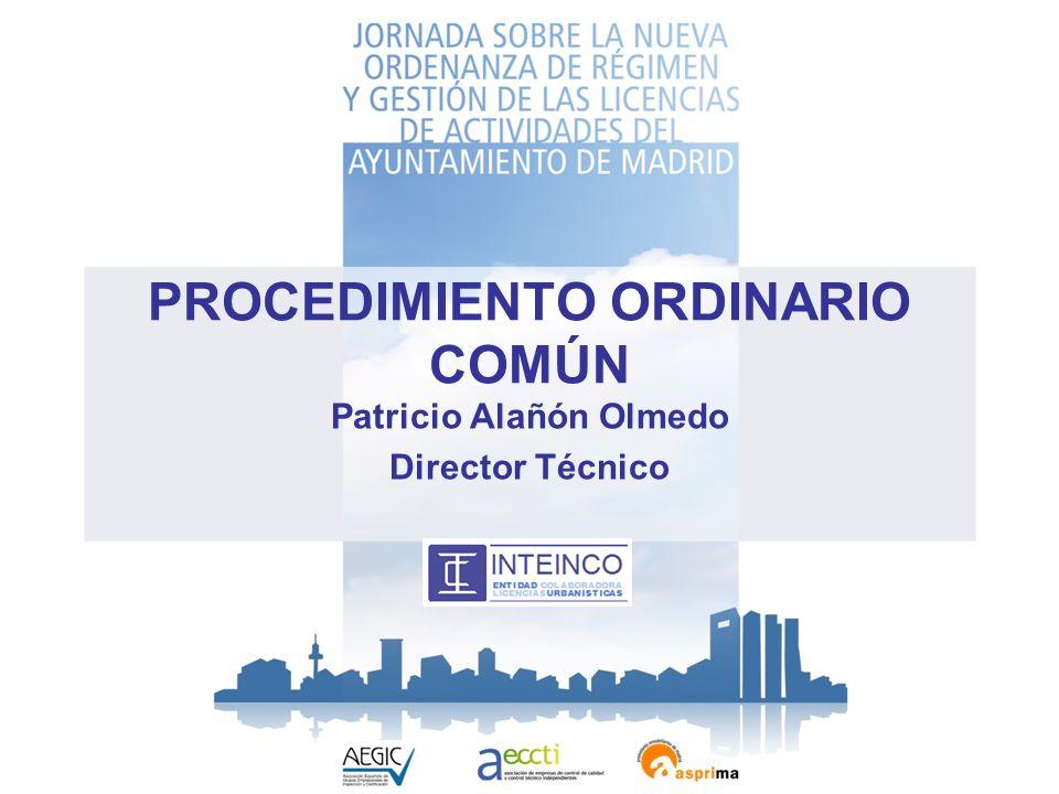 PROCEDIMIENTO ORDINARIO COMÚN