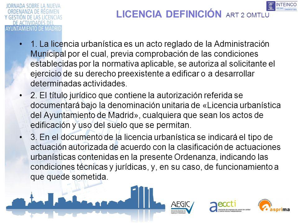 LICENCIA DEFINICIÓN ART 2 OMTLU