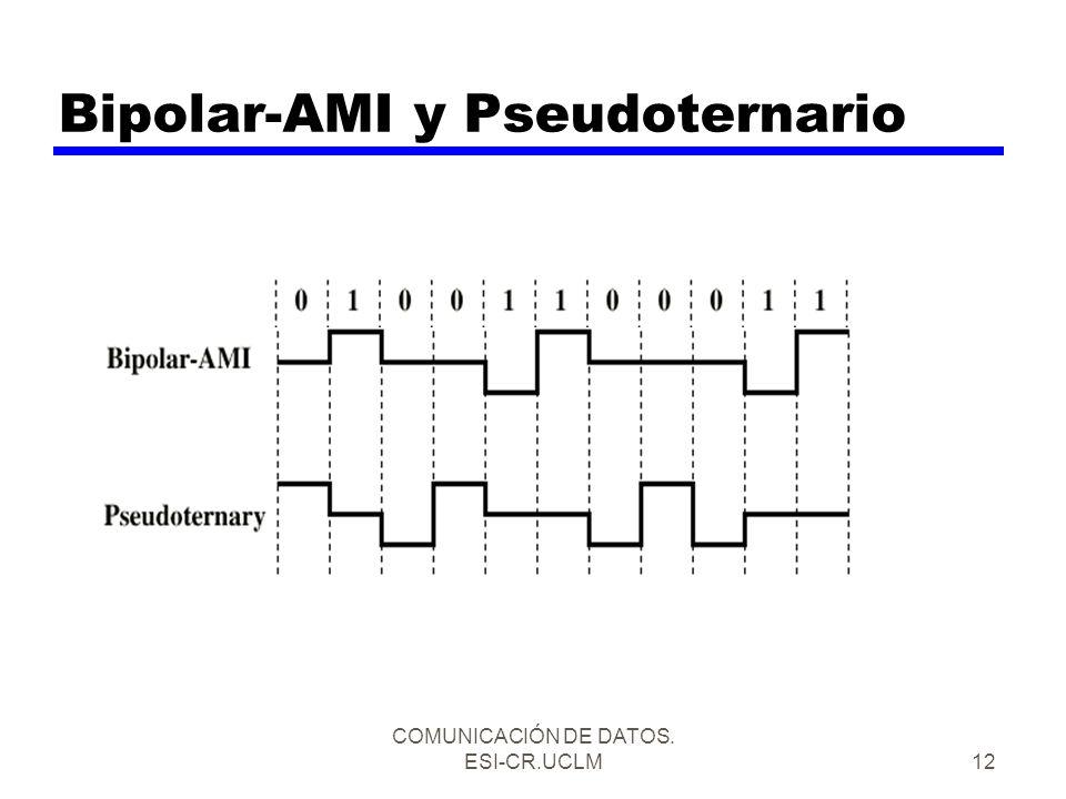 Bipolar-AMI y Pseudoternario